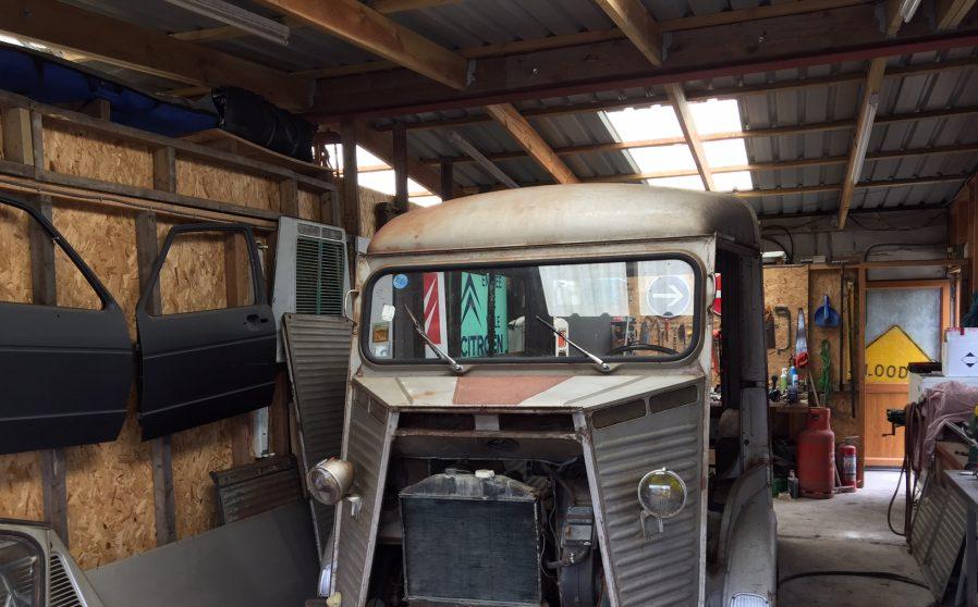 1964 Citroen Hy van twin hatch restoration