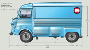 HY Van Dimensions - Side View