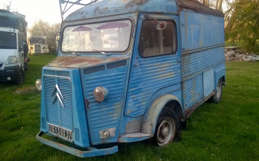 dc4b59dd6c A 1970 petrol SWB Citroen Hy van. Good chassis. Engine currently not  running. Ideal restoration project. From central France